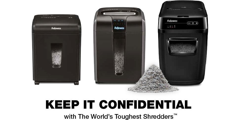 Fellowes Shredder cashback